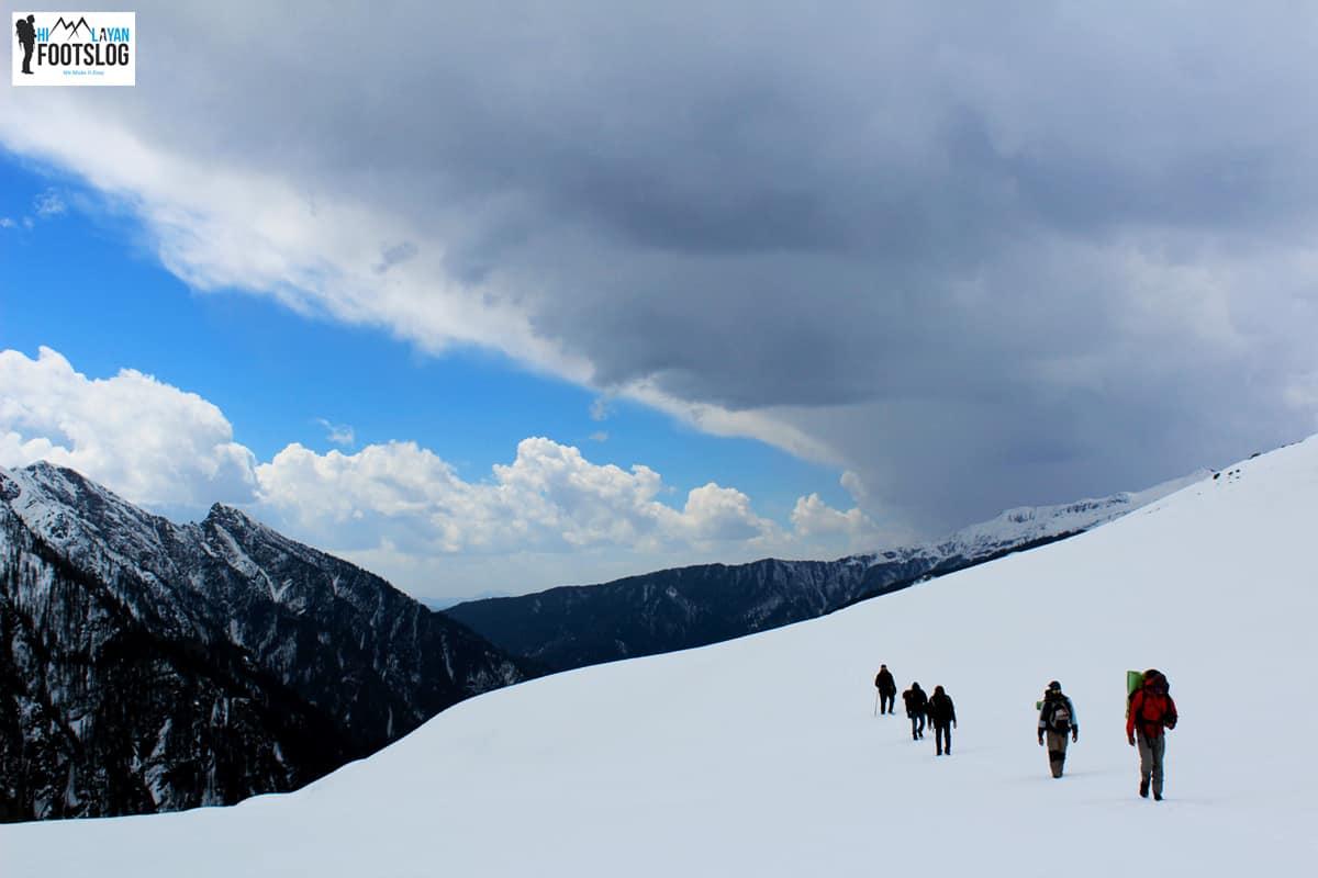 frozen lake chandernahan trek