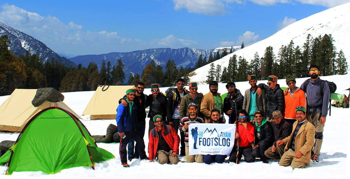 Chandernahan Snow Trek In Himachal Pradesh